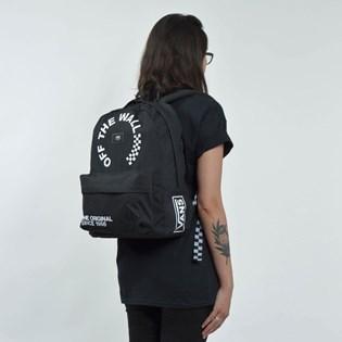 Mochila Vans Old Skool II Backpack Black White VN000ONITDV