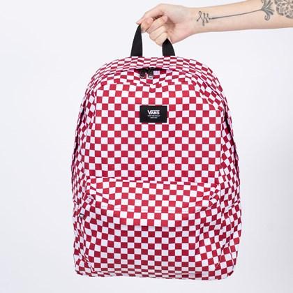 Mochila Vans Old Skool III Backpack Chili Pepper Checkerboard VN0A3I6R976