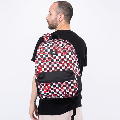 Mochila Vans Old Skool III Backpack Crew Checkerboard VN0A3I6RZYO