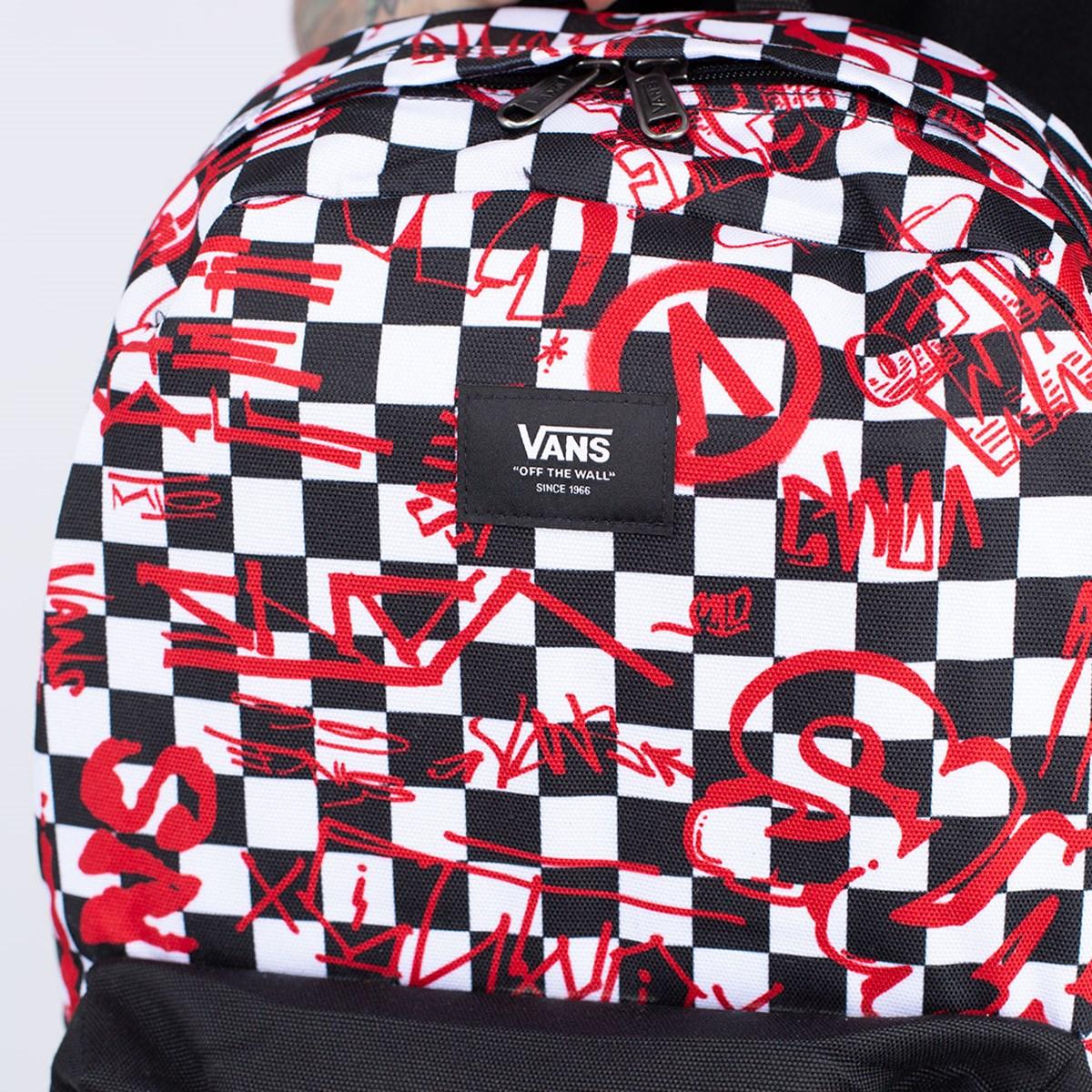 Mochila Vans Old Skool III Backpack Crew Checkerboard VN0A3I6RZYO