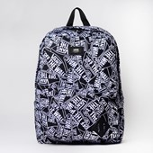 Mochila Vans Old Skool III Backpack Off The Wall Black White VN0A3I6ROTW