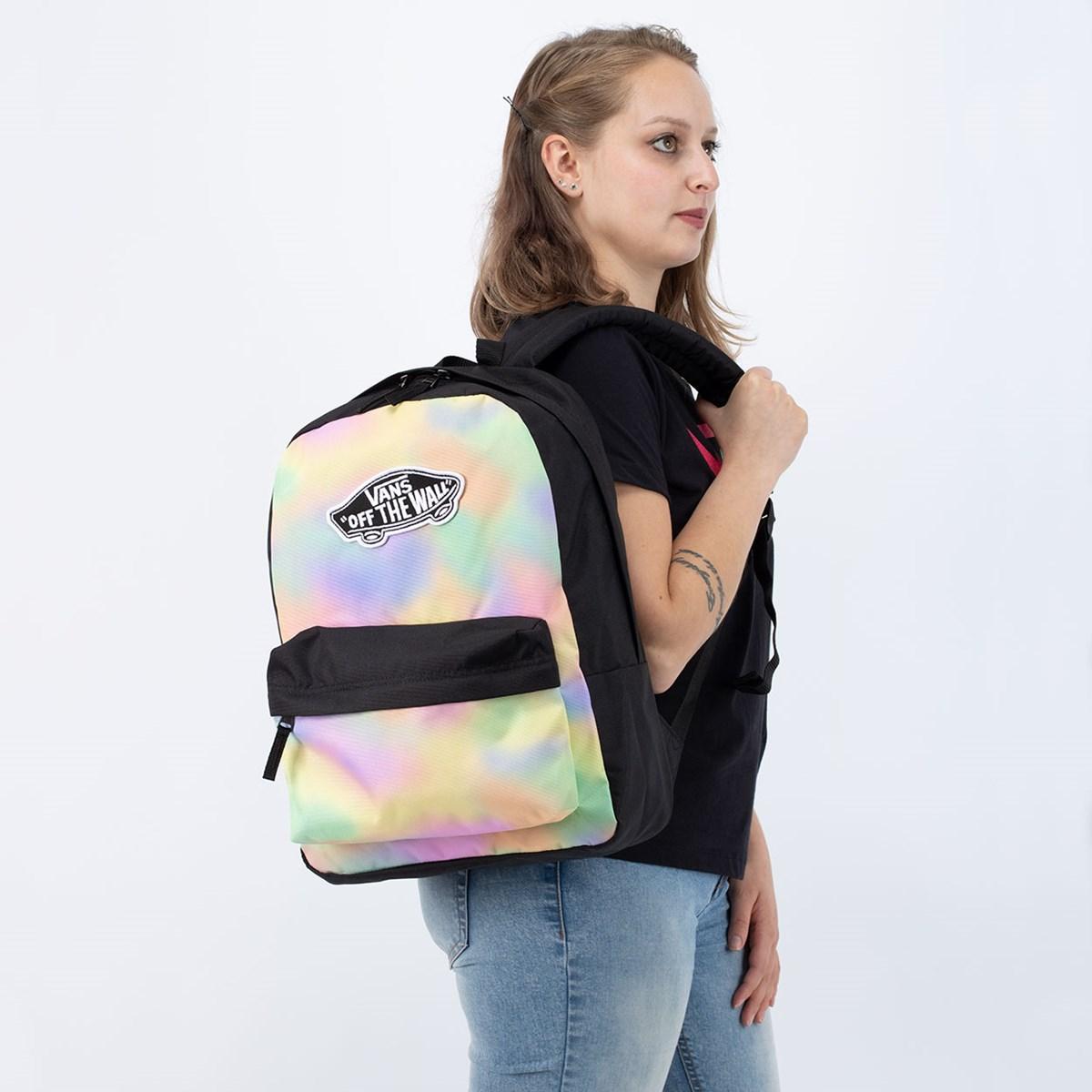 Mochila Vans Realm Backpack Aura Wash Black VN0A3UI6V1F