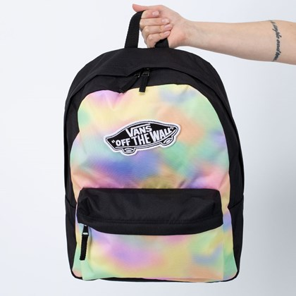 Mochila Vans Realm Backpack Aura Wash Black VN0A3UI6V1F