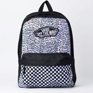 Mochila Vans Realm Backpack Black Diy VN0A3UI6YDP