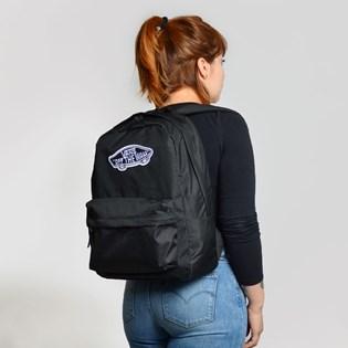 76e898dbd Mochila Vans Realm Backpack Black VN0A3UI6BLK Mochila Vans Realm Backpack  Black VN0A3UI6BLK