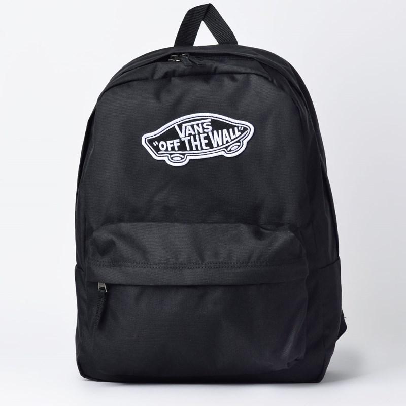 Mochila Vans Realm Backpack Black VN0A3UI6BLK - Loja Virus 07ece30d318