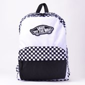 Mochila Vans Realm Backpack Black White Checkerboard VN000NZ056M
