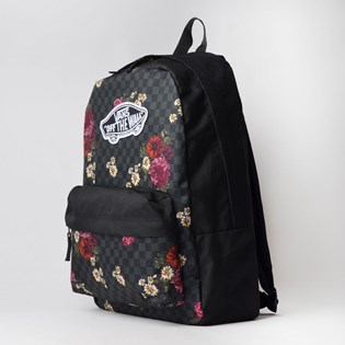 Mochila Vans Realm Backpack Botanical Checkerboard VN0A3UI6UWX