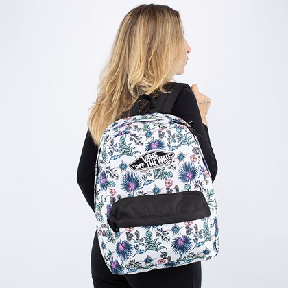 Mochila Vans Realm Backpack Califas Marshmallow VN0A3UI6ZFS