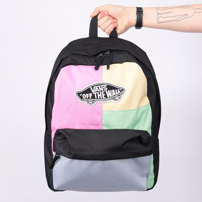 Mochila Vans Realm Backpack Checkwork VN0A3UI6VDK