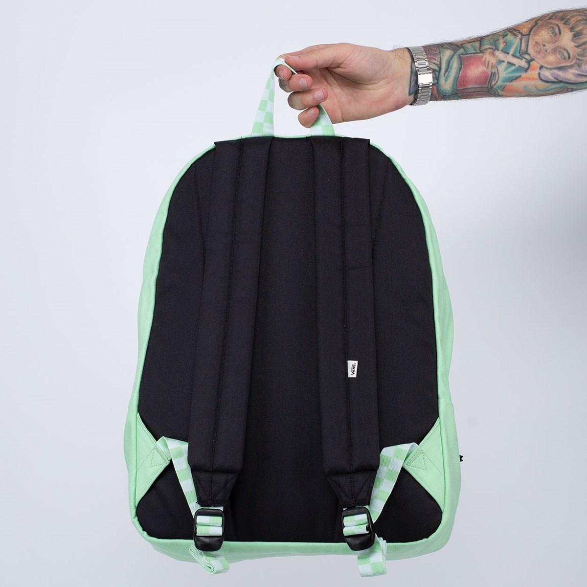 Mochila Vans Realm Backpack Green VN0A4DRM4SG