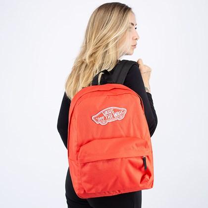 Mochila Vans Realm Backpack Hot Coral VN0A3UI6LM3