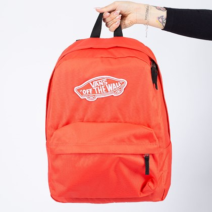 Mochila Vans Realm Backpack Hot Coral VN0A3UI6LM3