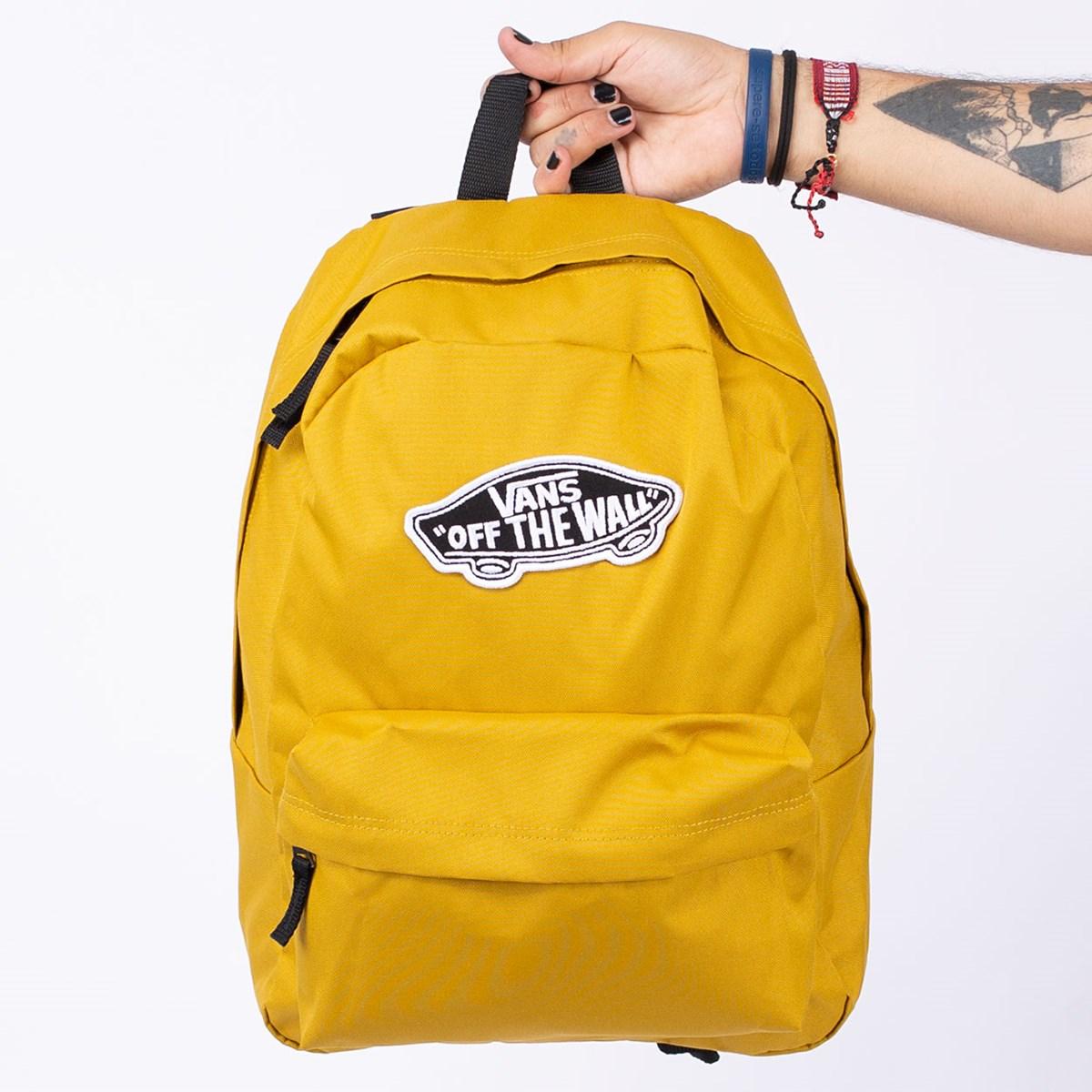 Mochila Vans Realm Backpack Olive Oil VN0A3UI6ZLM