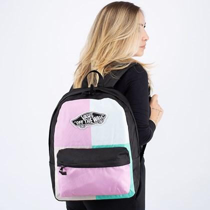 Mochila Vans Realm Backpack Orchid Patchwork VN0A3UI6ZG6