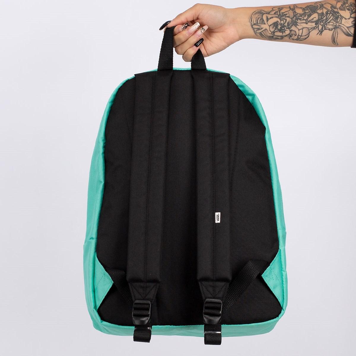 Mochila Vans Realm Backpack Waterfall Green  VN0A3UI6Z6R