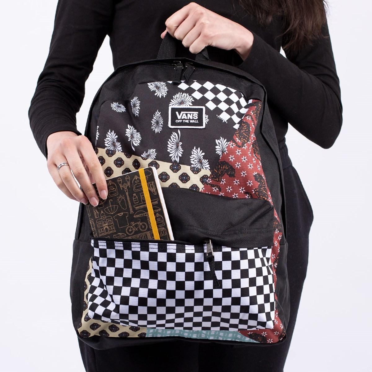 Mochila Vans Realm Classic Backpack Floral Patchwork VN0A3UI7ZL7