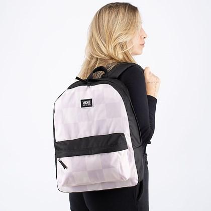 Mochila Vans Realm Classic Backpack Hushed Violet Checkerboard VN0A3UI7ZG2