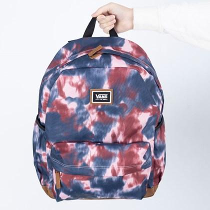 Mochila Vans Realm Plus Backpack Pomegranate Tie VN0A34GLYZZ