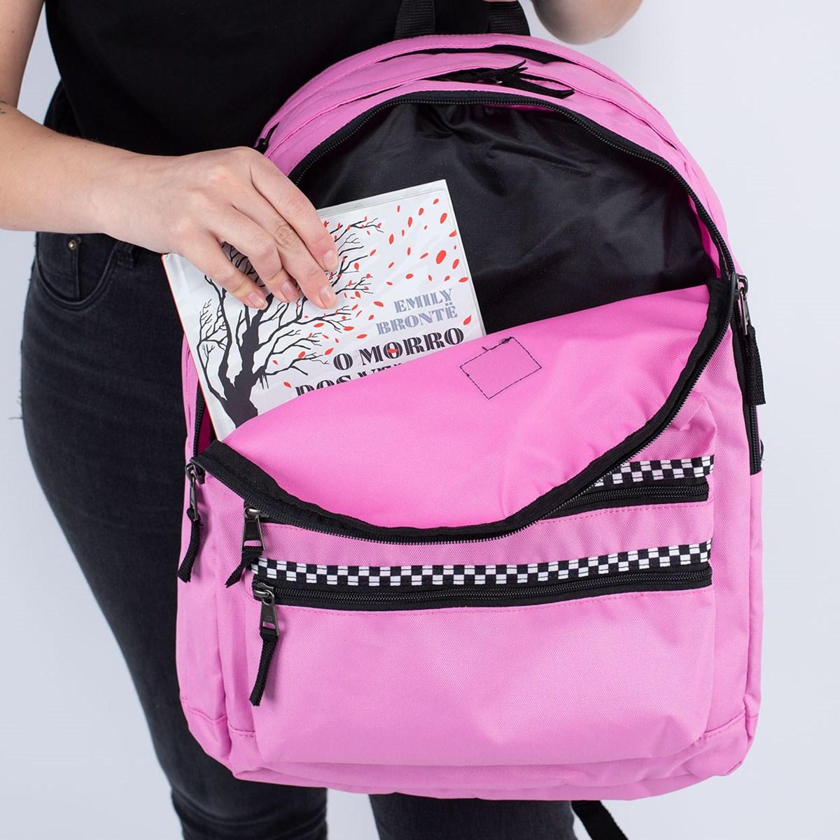 Mochila Vans Schoolin It Backpack Fuschia VN0A46ZPVDF