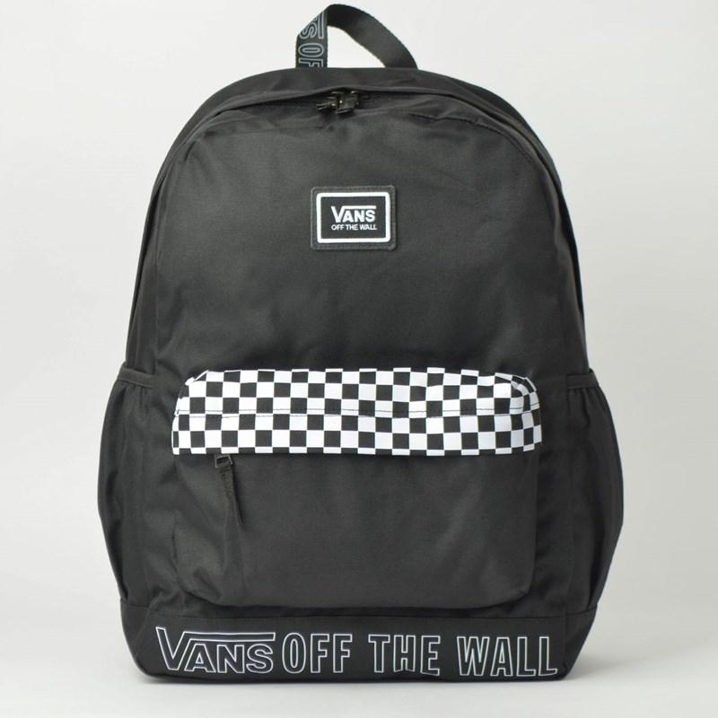 1d3443af6 Mochila Vans Sporty Realm Plus Backpack Black VN0A3PBIUVO - Loja Virus