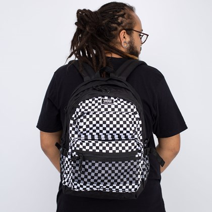 Mochila Vans Stasher Backpack Checkerboard VN0A4S6Y705