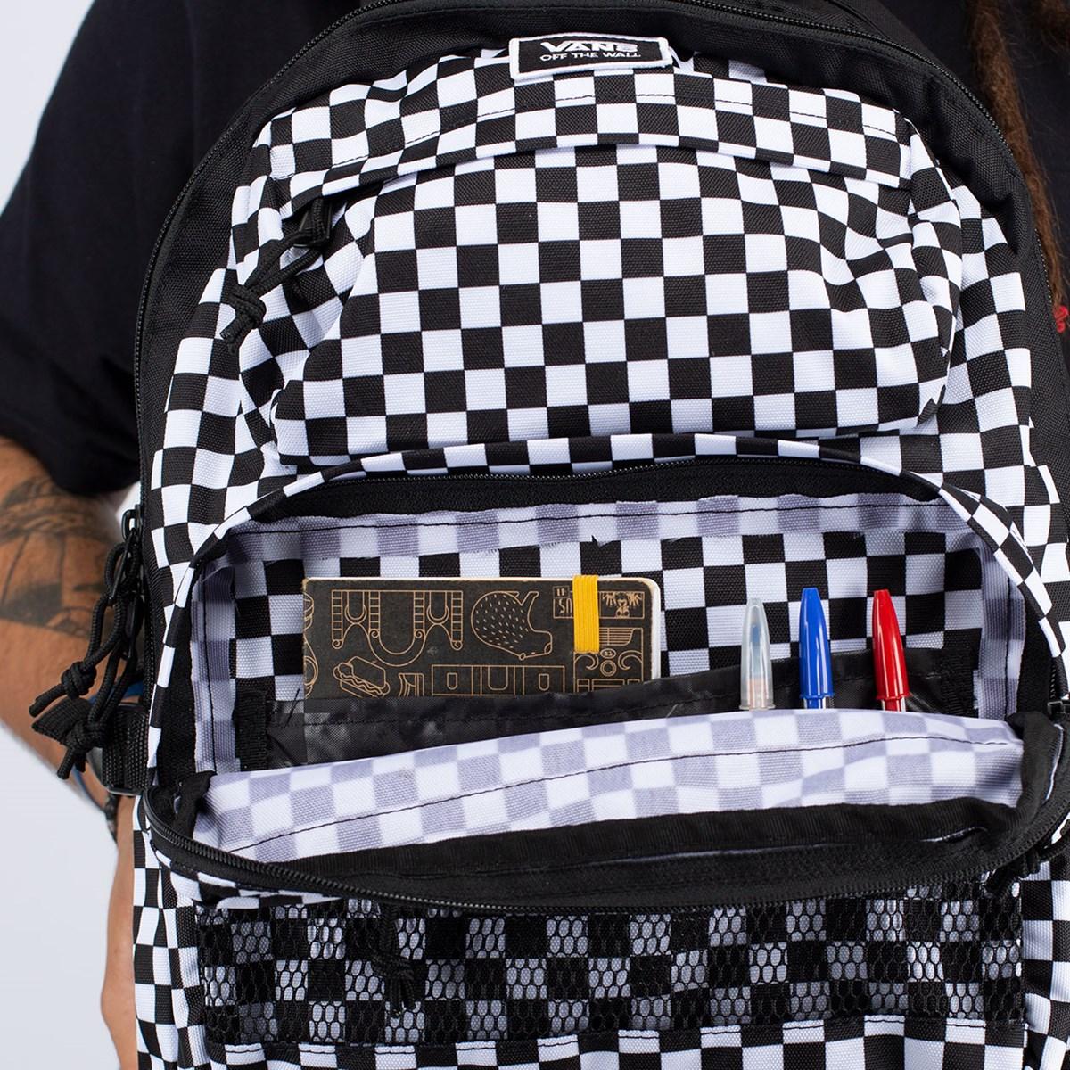 Mochila Vans Stasher Backpack Checkerboard VN0A4S6Y705