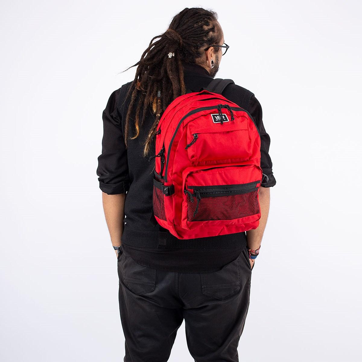 Mochila Vans Stasher Backpack Racing Red VN0A4S6YIZQ