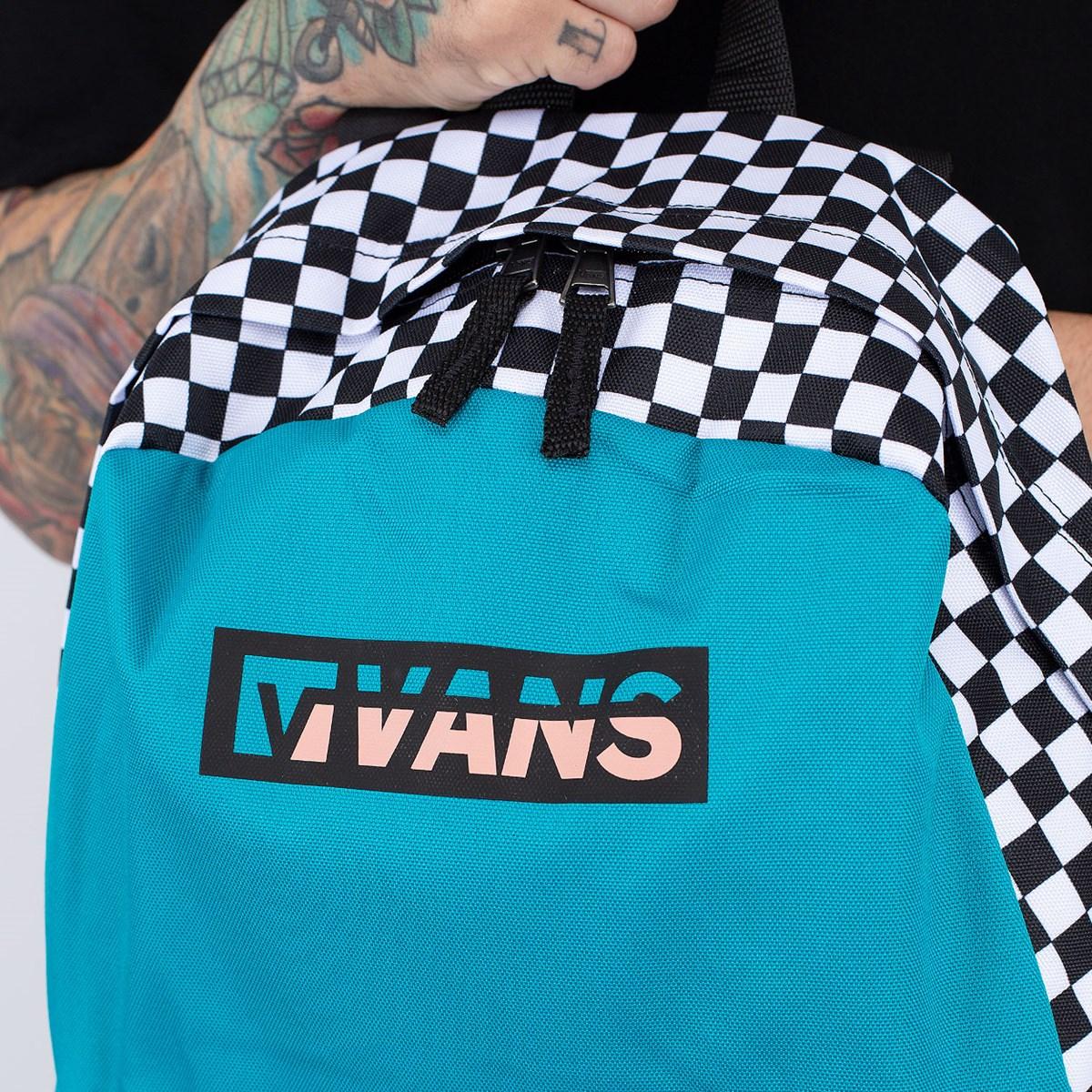 Mochila Vans Street Sport Realm Backpack Enamel Blue VN0A49ZJ4AW