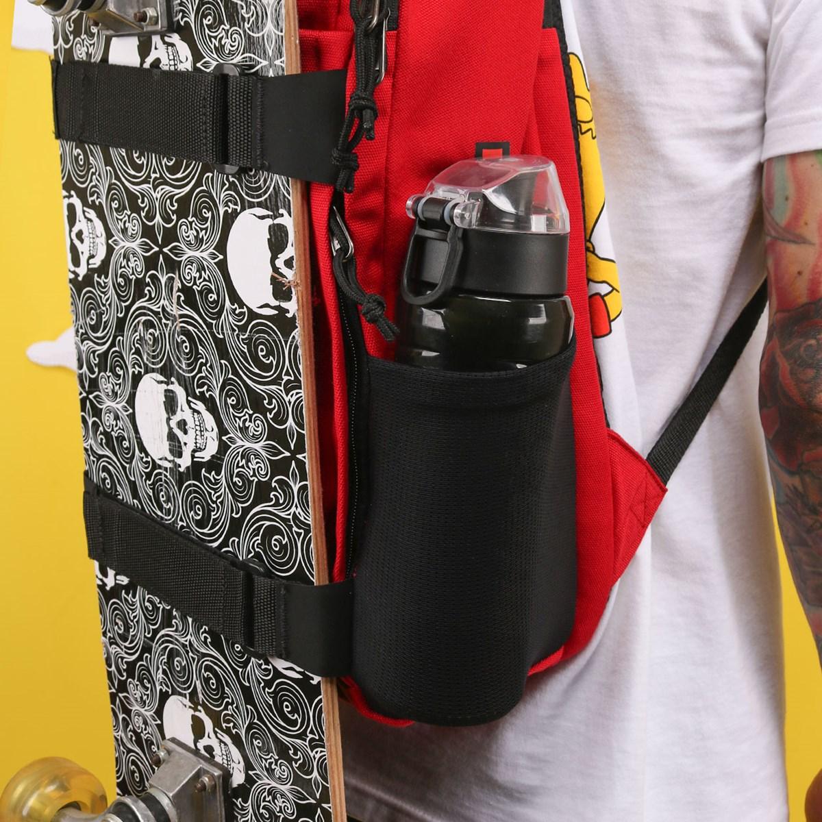 Mochila Vans The Simpsons El Barto Obstacle Skatepack Red VN0A3I6917A