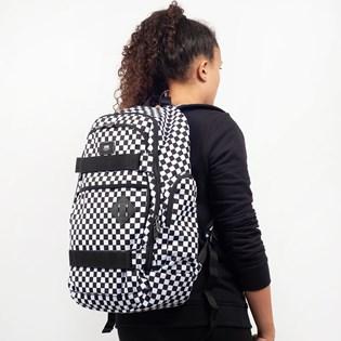 Mochila Vans Transient III Skatepack Black White Checkerboard VN0A2WNXHU0