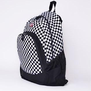 Mochila Vans Van Doren Backpack Black White Checkerboard VN-0C8YY28