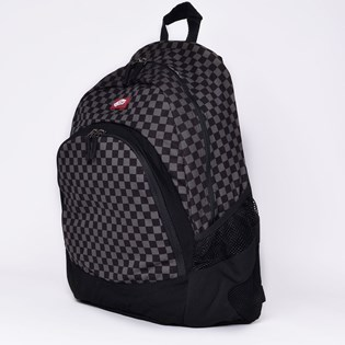 Mochila Vans Van Doren Backpack Checkerboard Black Charcoal VN-0C8YBA5