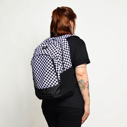 Mochila Vans Van Doren Original Backpack Checkerboard Black White VN0A36OSY28