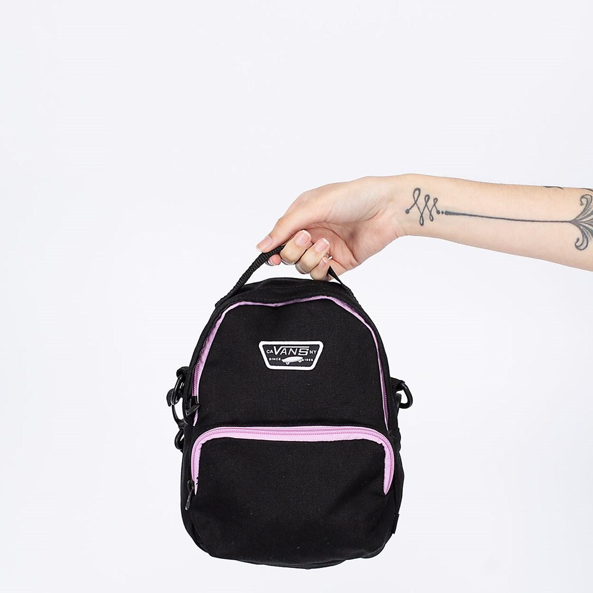 Mochila Vans Warped Mini Bag Black VN0A5DP6BLK