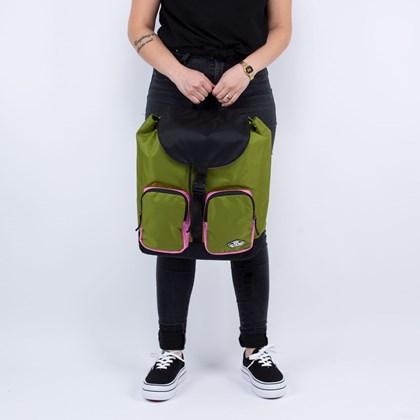 Mochila Vans WM Geomancer II Backpack Calla Green VN0A47XEV48