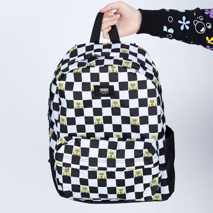Mochila Vans X Spongebob Squarepants Checkerboard VN0A5KHQQ7Y