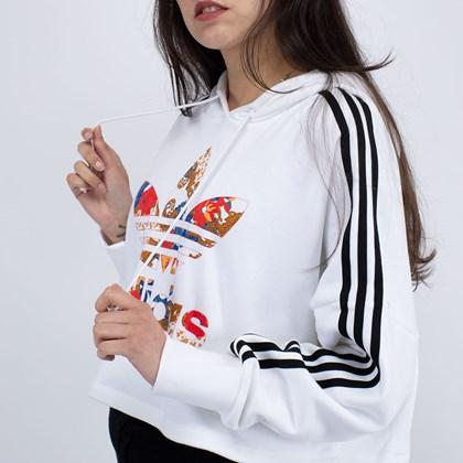 Moletom adidas Capuz Boxy HER Studio London White GN3356