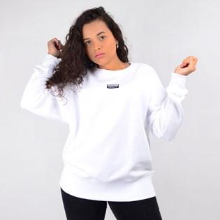 Moletom Adidas Feminino Gola Careca Vocal Sweat Branco ED5847
