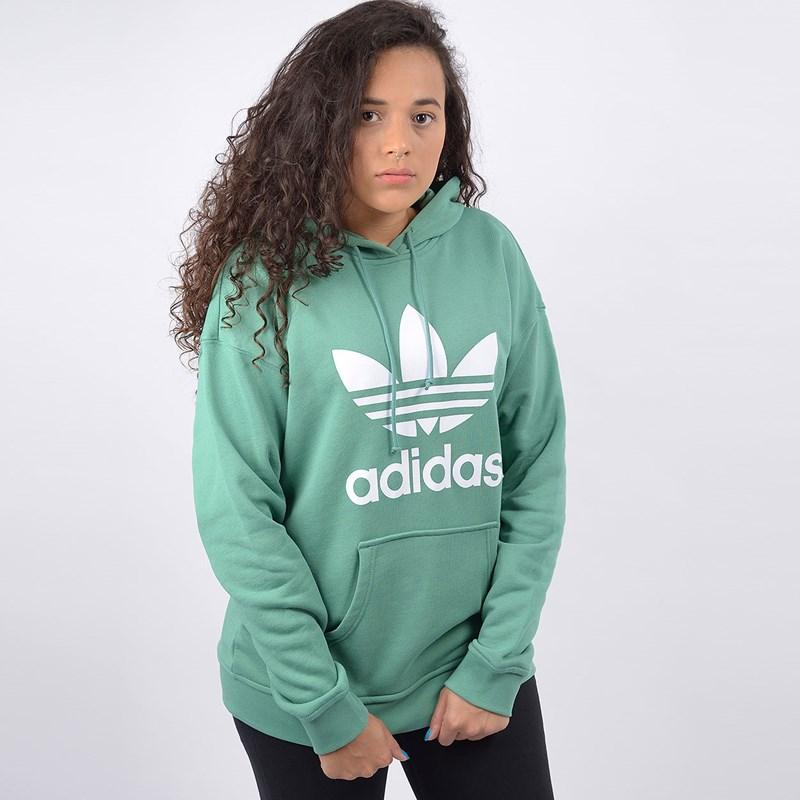 Moletom Adidas Feminino TRF Hoodie Capuz Future Hydro F10 FM3297