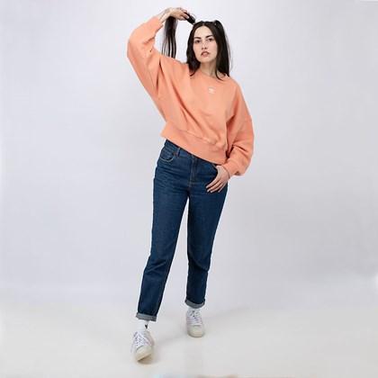 Moletom adidas Fleece Adicolor Essentials Ambient Blush H06659