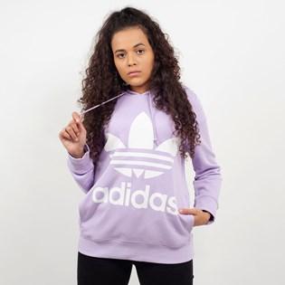 Moletom Adidas Trefoil Hoodie Capuz Lilas DV2566