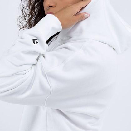 Moletom Converse Capuz Stronger Together Oversized White 10019661-A01
