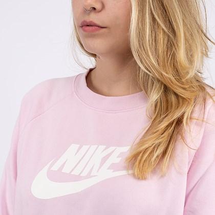 Moletom Nike Manga Longa NSW Essential Crew F Pink BV4112-663