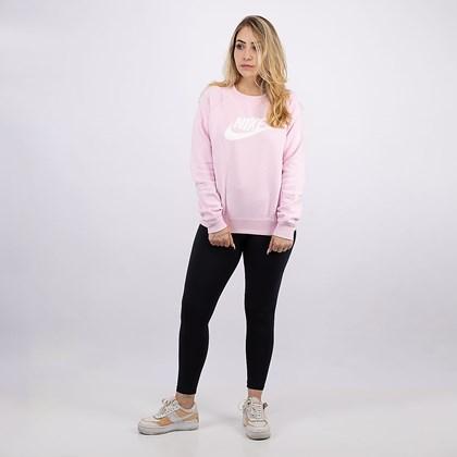 Moletom Nike Sportswear Crew F Pink BV4112-663
