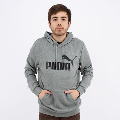 Moletom Puma Capuz ESS Big Logo Hoodie Tr Black 586688-01