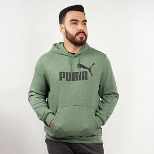 Moletom Puma Capuz Essentials Hoodie Laurel Wreath Verde 85242423