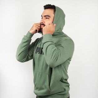 Moletom Puma Capuz Essentials Hoodie Laurel Wreath Verde 85242423