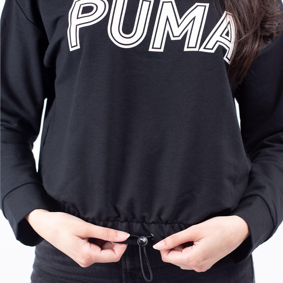 Moletom Puma Capuz Feminino Modern Sports Hoody Black 58123401