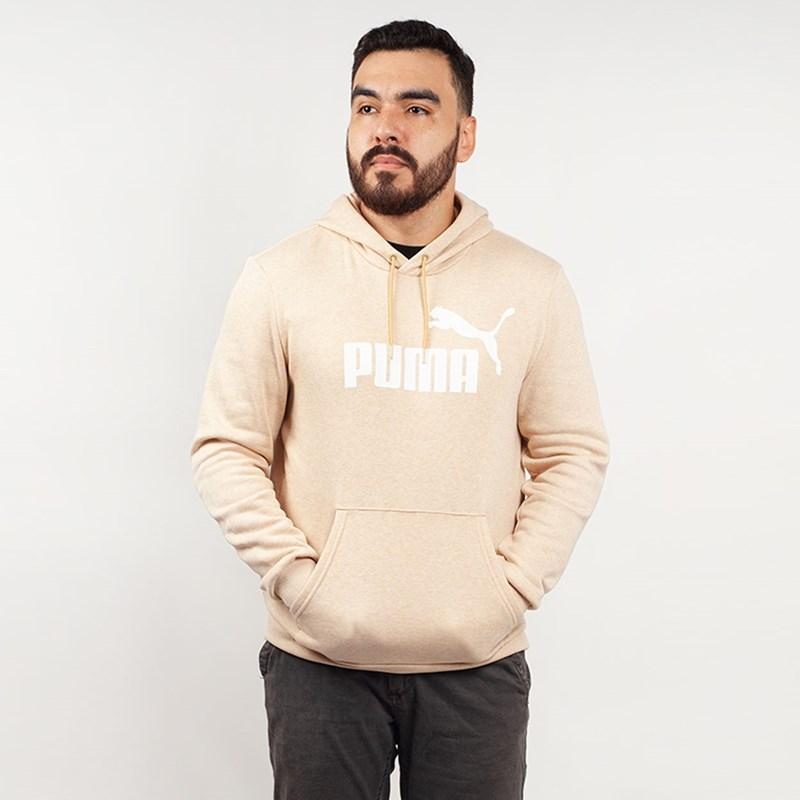 Moletom Puma Masculino Capuz ESS Hoody FL Bege 85242241